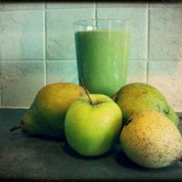 Healthy Muesli Green Thickie Smoothie Recipe