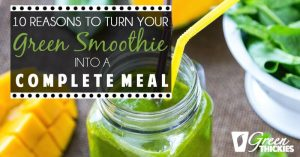 Healthy Green Smoothies: 10 reasons why you should be drinking Green Thickies