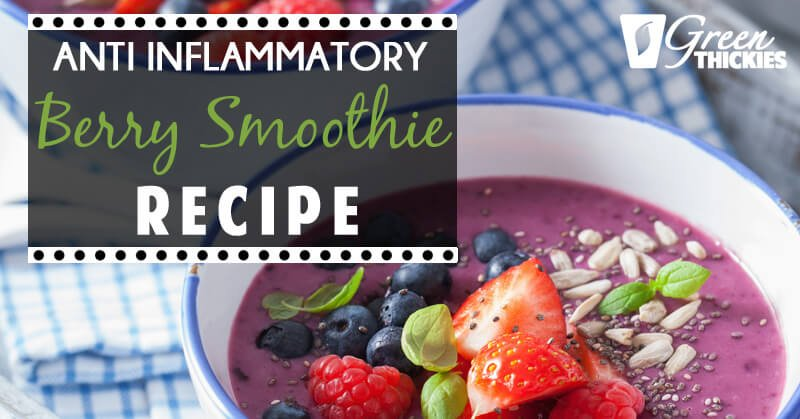 Berry Smoothie Recipe: Reduce Inflammation
