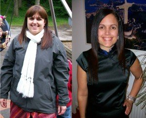 Katherine Natalia's before and after weight loss pictures