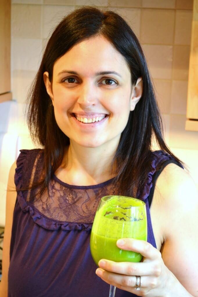 Katherine Natalia enjoying Green Thickies