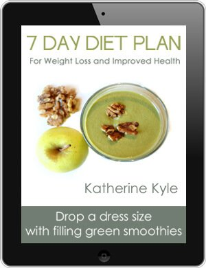 Green Thickies 7 Day Diet Plan for Weight Loss and Improved Health