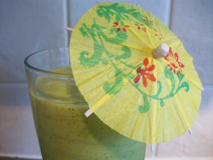 Hawaiian Smoothie: Green Smoothie of the week (Green Thickie)