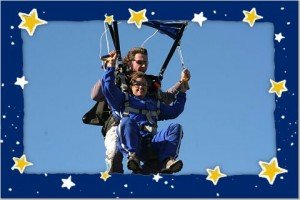 Sky Diving in South Africa with improved health: Green Thickies