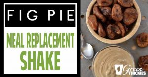 Fig Pie Dessert Smoothie: Dessert Thickie
