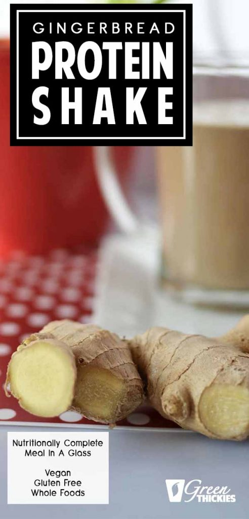 Gingerbread Smoothie: Let your taste buds sparkle with this dessert thickie