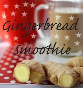 Gingerbread smoothie sparkle: Dessert Thickie