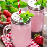 Strawberry Balsamic Salad Smoothie