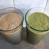 Homemade Cookie Dough Green Smoothie