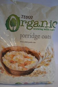 Organic Rolled Jumbo Porridge Old Fashioned Oats Packet: Green Thickies