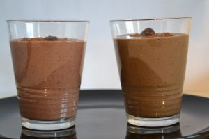 Chocolate Cherry Smoothie: Make it with or without the greens but nobody would know the difference