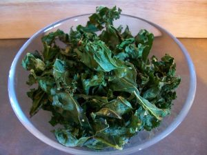 Kale Chips: Absolutely Gorgeous and harmless enough for an evening snack?