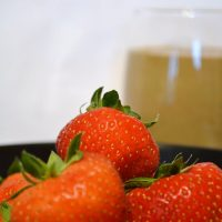 Strawberry, Orange and Dandelion Smoothie