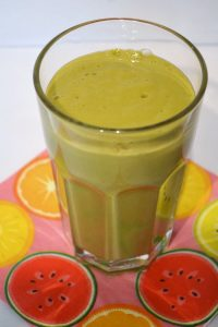 Peach and Orange Juice Smoothie: Green Thickie Thursdays