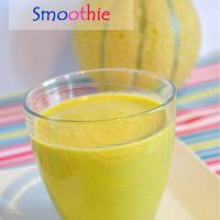 Thick Green Tropical Smoothie Recipe and eating flowers for lunch (Green Smoothie/Green Thickie)