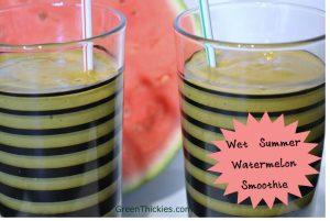 Wet Summer Watermelon Smoothie
