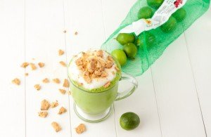 Key Lime Pie Green Smoothie:Healthful Pursuit