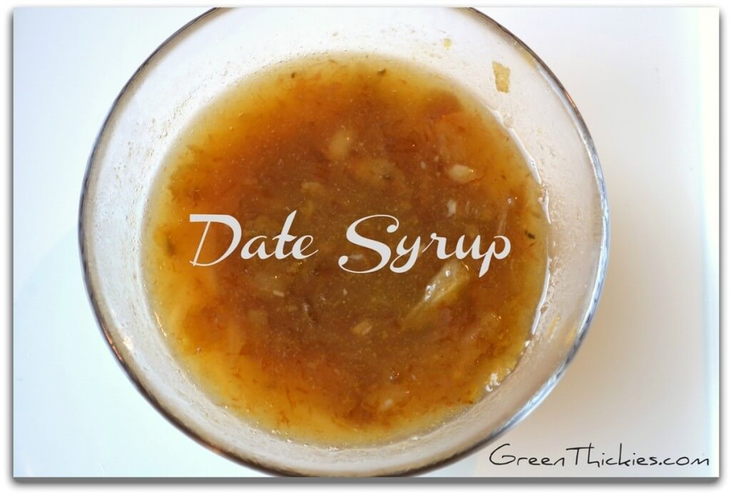 How to make homemade Date Syrup