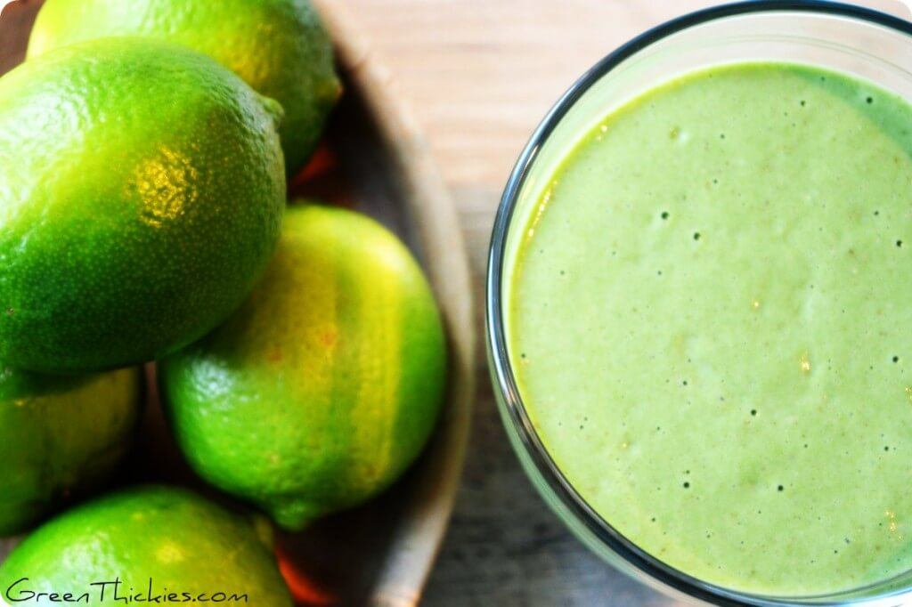 Try this Healthy Key Lime Pie Smoothie once, love it forever.