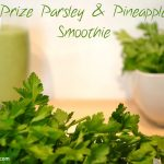 Prize Parsley and Pineapple Smoothie