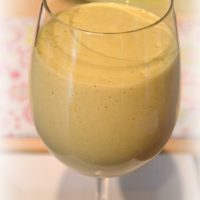 Sweet Punch Romaine Lettuce Smoothie (Green Smoothie/Green Thickie)