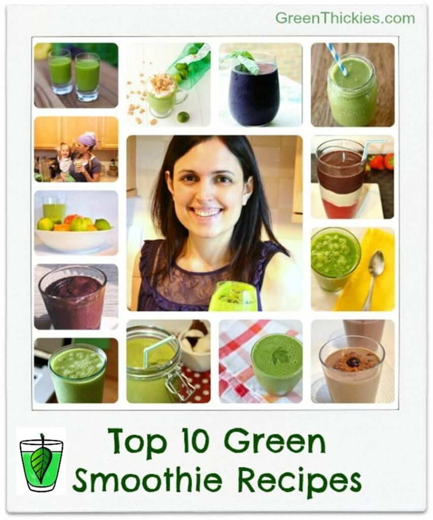 Top 10 Green Smoothie Recipes for International Smoothie Day: Green Thickies.com