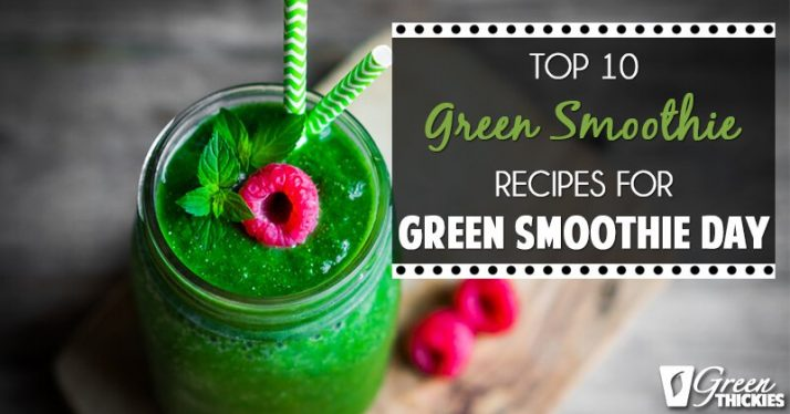 Top 10 Green Smoothies Recipe (Blog Post)