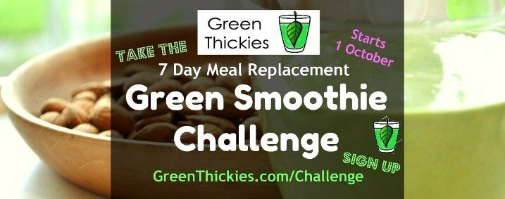 Green Thickies 7 day meal replacement green smoothie challenge