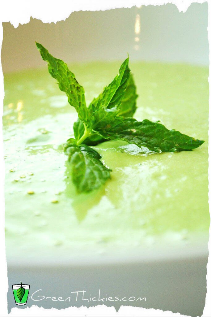 You can make this Cream of Spinach Soup straight away in your blender ...