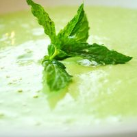 Raw Vegan Cream of Spinach Soup Recipe