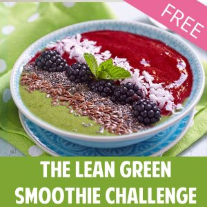 LEAN GREEN SMOOTHIE CHALLENGE