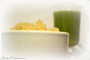 You will love how easily quinoa digests when it's blended into a smoothie
