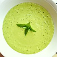 Raw Vegan Cream Of Spinach Soup Recipe (Meal Replacement)