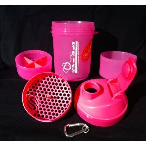 Smart Shake bottle 20oz pink