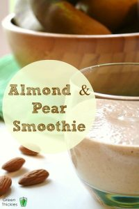 Almond and Pear Smoothie 4 Way Smoothie
