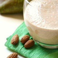 Almond and Pear Smoothie (4 Way Smoothie)