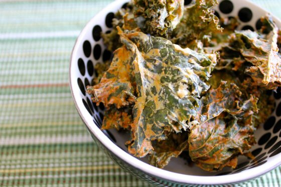 Carrie on vegan sour cream onion kale chips