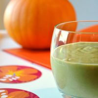 Orange Juice and Pumpkin Smoothie (Green Smoothie / Green Thickie)