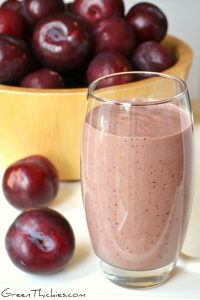 Spicy Plum Smoothie