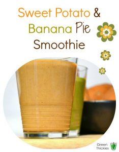 Banana and Sweet Potato Smoothie