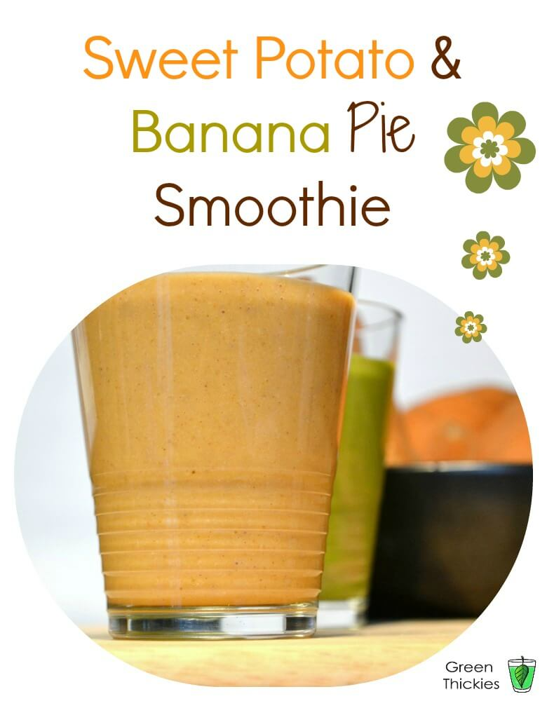 Banana and Sweet Potato Smoothie
