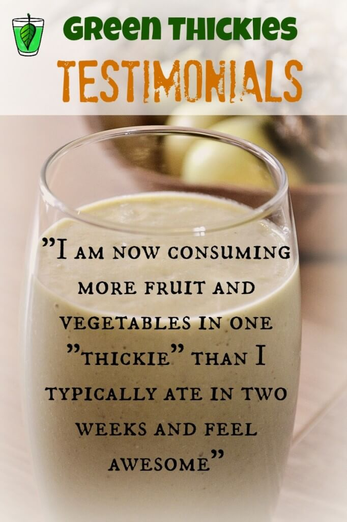 Green Smoothie Testimonials: SAD to Smoothies