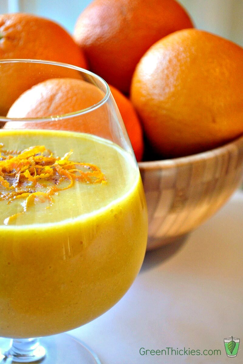 Healthy Homemade Orange Julius Recipe (Vegan, Sugar Free)