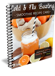 Cold and Flu Busting Smoothie Recipe Card