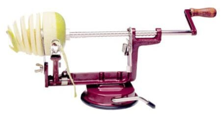 Back to basics Apple and potato peeler and corer slicer