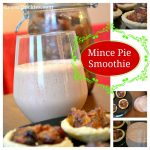 Mince Pie Smoothie Christmas Drink