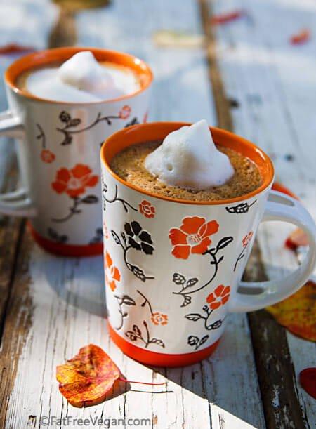 Vegan Pumpkin Spice Hot Chocolate Recipe