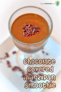Chocolate Covered Marzipan Smoothie