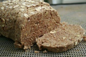 Raw Banana Walnut Bread