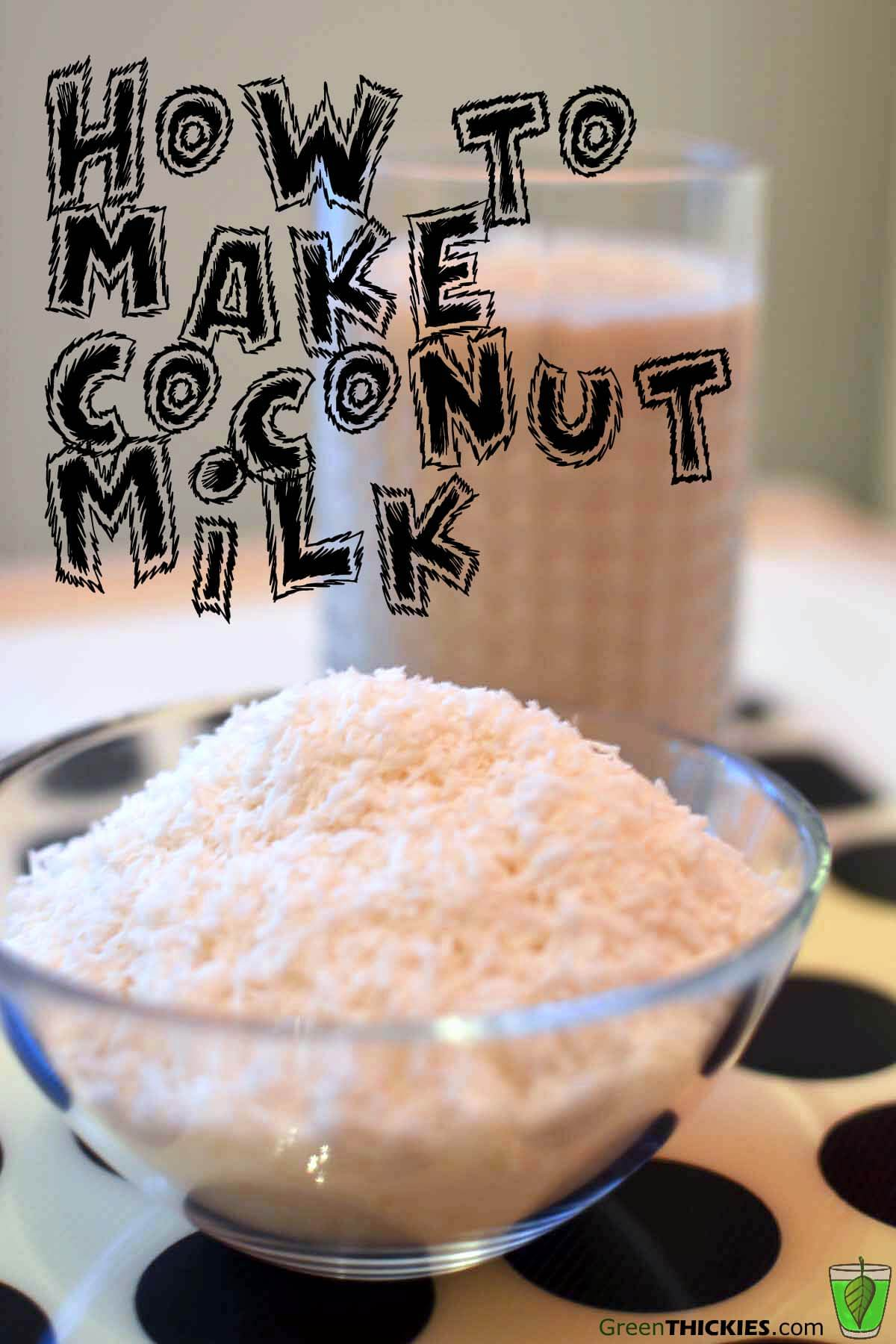 How to make coconut milk Creamy (A perfect dairy milk alternative)